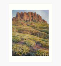 Outside Tucson Art Print