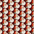 Vintage Retro Santa by born30