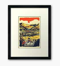 Fallout Graphic Poster New & Improved Framed Print