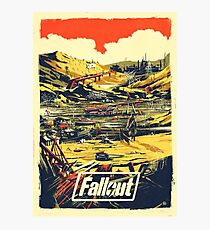 Fallout Graphic Poster New & Improved Photographic Print
