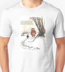 winnie the pooh famous quote piglet Slim Fit T-Shirt