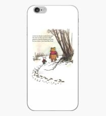 winnie the pooh famous quote piglet iPhone Case