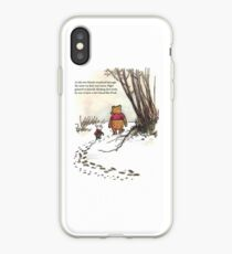 winnie the pooh famous quote piglet iPhone-Hülle & Cover