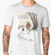 winnie the pooh famous quote piglet Men's Premium T-Shirt