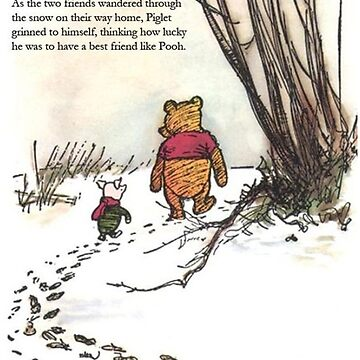 winnie the pooh famous quote piglet by softseb