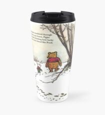 winnie the pooh famous quote piglet Thermobecher