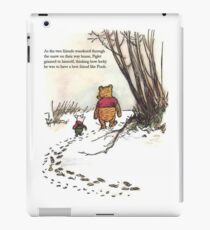 winnie the pooh famous quote piglet iPad Case/Skin