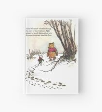 winnie the pooh famous quote piglet Hardcover Journal