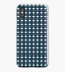 Just Patterns Blue'd Audio iPhone Case/Skin