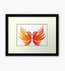Fire Wings Too Hot Framed Print