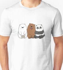 WE BARE BEARS ORIGINAL ART T SHIRT AND MORE Unisex T-Shirt