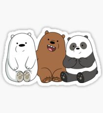 WE BARE BEARS ORIGINAL ART T SHIRT AND MORE Sticker