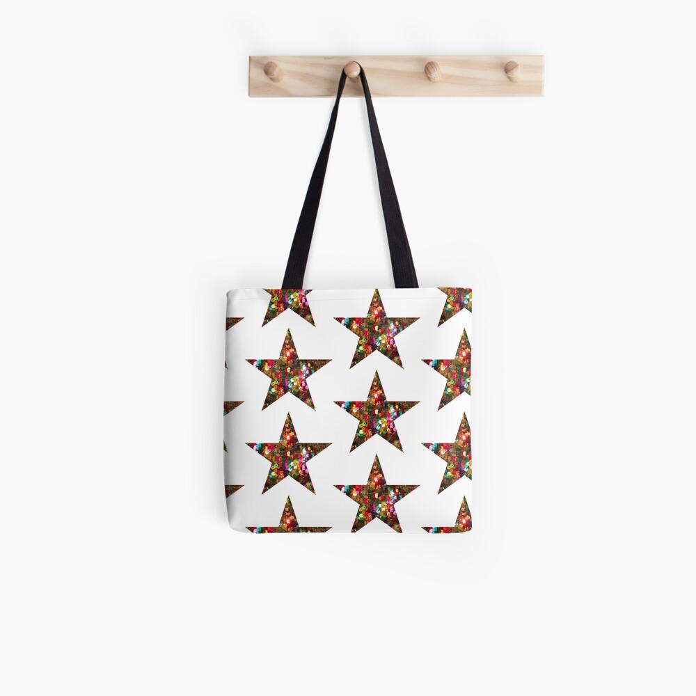 La estrella Bolsa de tela