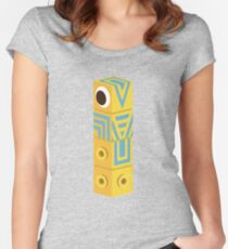 Monument Valley Totem Women's Fitted Scoop T-Shirt