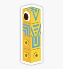 Monument Valley Totem Sticker