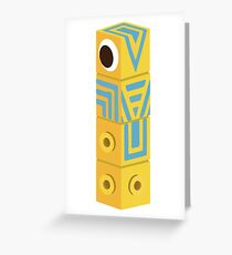 Monument Valley Totem Greeting Card