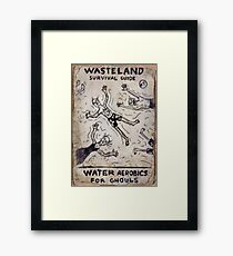 Fallout 4 Wasteland Survival Guide #7 Water Aerobics For Ghouls Framed Print