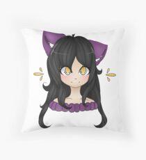 New Youtuber Aphmau Cute Fanart Drawing Throw Pillow
