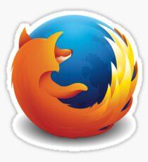 Mozilla Firefox Logo Sticker