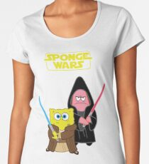 Sponge Wars Women's Premium T-Shirt