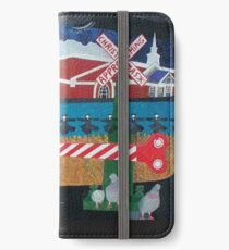 Approaching Christmas iPhone Wallet/Case/Skin