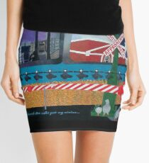 Approaching Christmas Mini Skirt