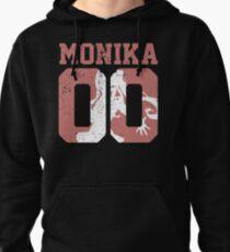 Monika 00 Jersey DDLC Inspired Pullover Hoodie