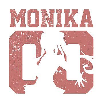 Monika 00 Jersey DDLC Inspired by Fyremageddon