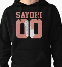Sayori 00 Jersey DDLC Inspired Pullover Hoodie