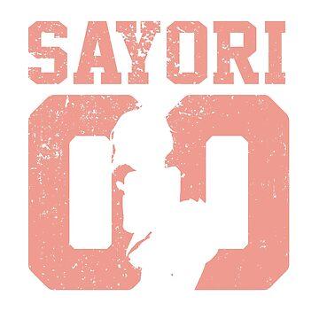 Sayori 00 Jersey DDLC Inspired by Fyremageddon