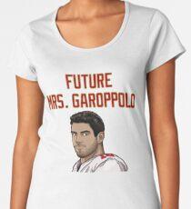 Future Mrs. Garoppolo Women's Premium T-Shirt