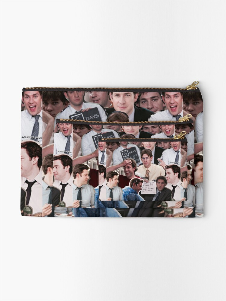 Alternate view of Jim Halpert - The Office Zipper Pouch