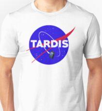 Tardis Nasa Space Parody T-Shirt