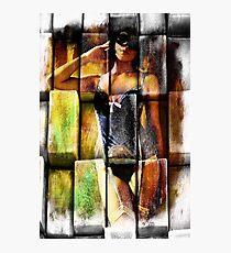 Segments of the Feminine Photographic Print