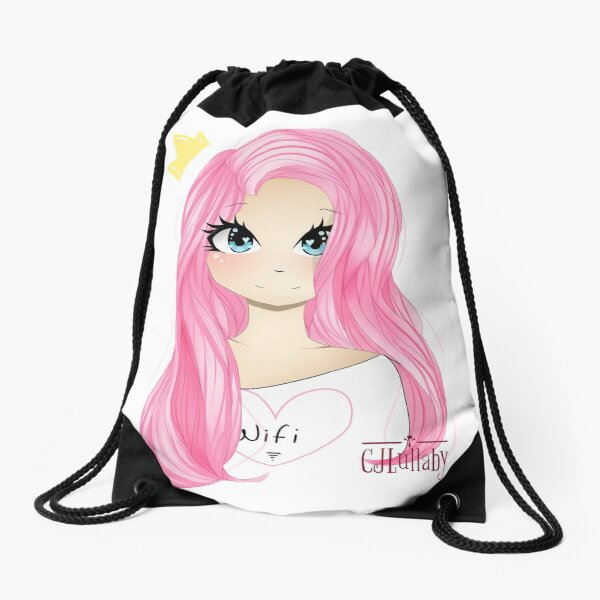 New LDShadowLady Minecraft Youtuber Cute Fanart Drawing Drawstring Bag