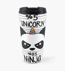 unicorn ninja  Travel Mug