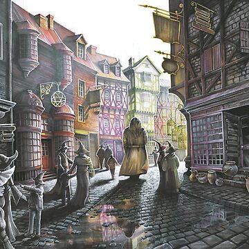 Diagon Alley by kkmiecikart