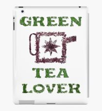 Green Tea Lover iPad Case/Skin
