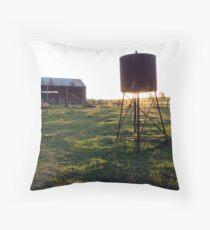 Australian Farm Throw Pillow