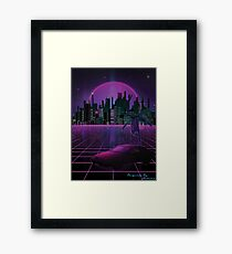 Skyline Night Framed Print