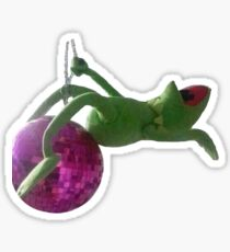 Kermit meme Sticker