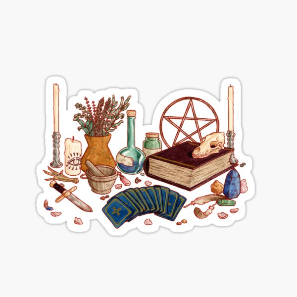 Witch Altar Sticker