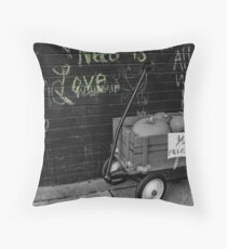 Need is Love Throw Pillow