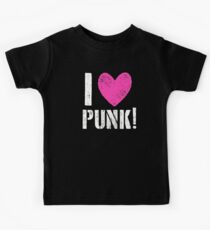 I LOVE PUNK! Kids Tee