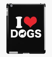 Cute Funny I Love DOGS iPad Case/Skin