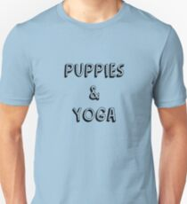 Puppies and Yoga T-Shirt