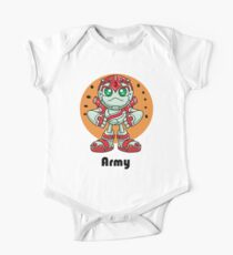 """Robobot """"Off to Mars"""" / Three / Robot Army One Piece - Short Sleeve"""