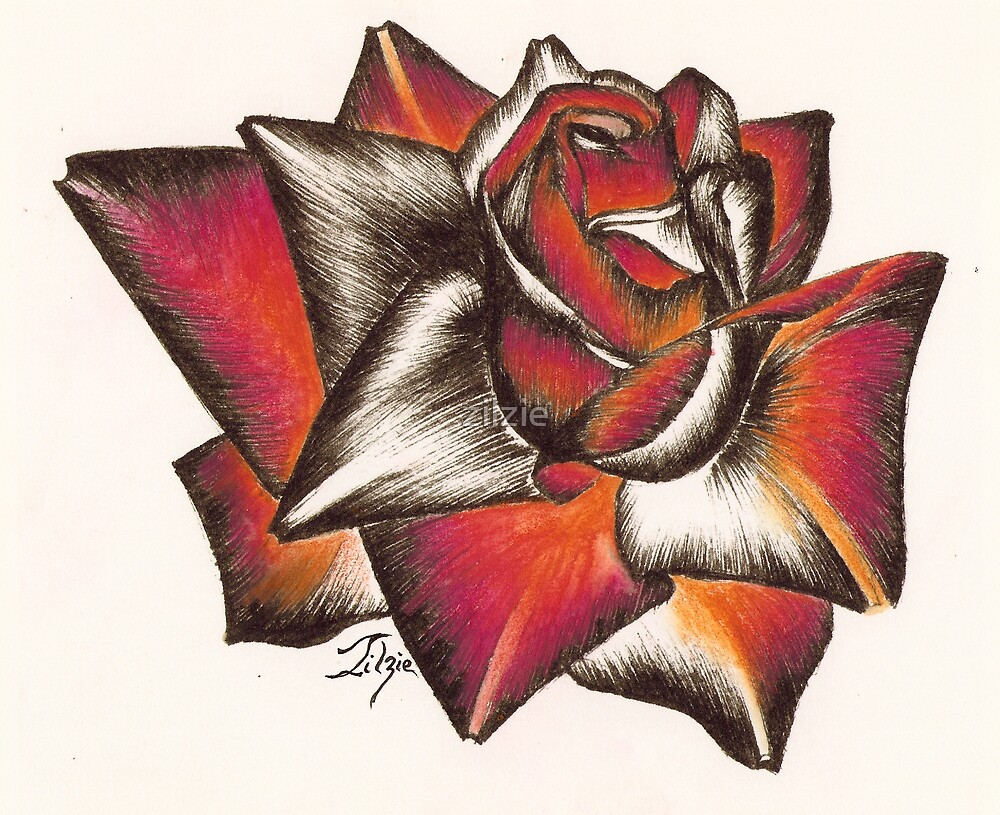 rose head by zilzie