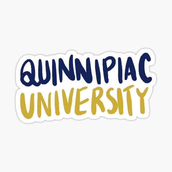 Quinnipiac university logo Sticker