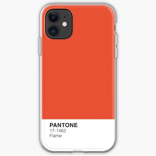 Llama Pantone Funda blanda para iPhone